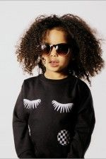 Eyelash SHIRT for KIDS?! Everything we love rolled into one.