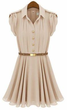 Rosa lapela Buttons Bandeau plissadas vestido de chiffon imagens