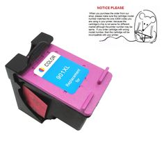 12.51$  Watch here - http://alicqv.shopchina.info/go.php?t=32722932733 - 1 pcs color show ink level for HP 901xl CC656AN Remanufactured Ink Cartridge 901 xl Officejet J4580 J4640 J4680 inkjet printers 12.51$ #magazineonlinewebsite