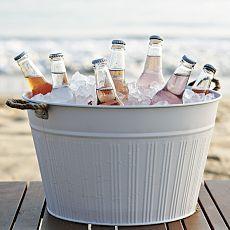 Outside metal drink bucket