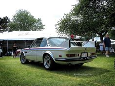 1974 BMW E9 3.0 CSL at the Greenwich Concours