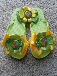 Make a matching set of flip flops and a hairbow.. perfect for those summer outings!