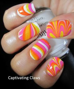 Captivating Claws: water marble. I die!