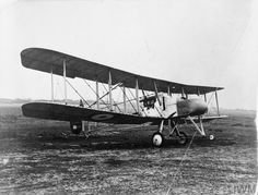 A two seater FE 2a pusher biplane.