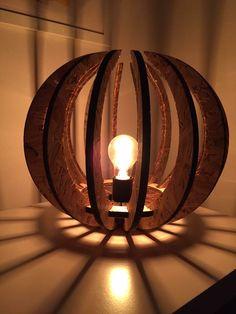 La lampe Calyx 48 par Osmose le bois