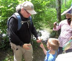 """""""If you see it moving, bring it over.""""  Environmental education at PEEC"""