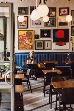 Photo by PION studio. #restaurantdesign