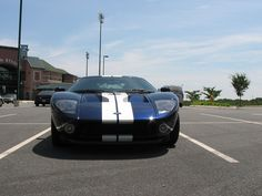 My dream car, a Ford GT. I got to drive this on the street.