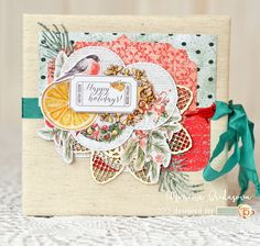 new year cd box for @studio75pl. adore this festive collection! бокс с использованием новой новогодней коллекции от @studio75pl - просто моя любовь! как всегда, можно повырезать кучу интеречных деталек, а еще же и мандарины-апельсины! редкое явление в зарубежных коллекциях  #cdbox #by_marina_gridasova #newyear #handmadecdbox #diecut #alteredscrap #crafting #papercrafting #handmadeproject #handmade #scrap #скрапбукингкоролев #боксдлядискакоролев #боксдлядиска #авторскаяработа #скрапбукинг…
