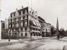 Leonard Jerome Mansion 1877, 32 East 26th Street, Madison Avenue; SE corner.