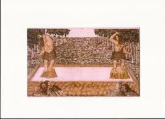 Canarios en desafío público según Torriani en el libro la Tribu de los Canarii. Puedes descargárte el ebook en el siguiente enlace: http://investigacionesdigitalescanarias.blogspot.com.es/