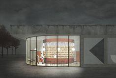 jagnefaltmilton - Entry for the Bauhaus Museum in Dessau