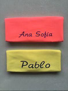 #ToallasQuickDry Toalla naranja neón y amarillo.