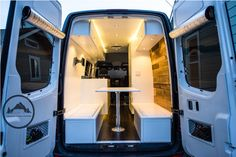 Custom Sprinter Van conversion by Townsend Travel Trailers. Check out more at…