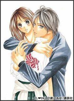 Shuusei y Aoi // L-dk Ldk Manga, L Dk, Otaku Mode, Beautiful Couple, Shoujo, Japan, Anime, Fictional Characters, Awesome