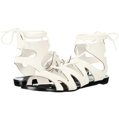 Womens Sandals C Label Flatty-14 White