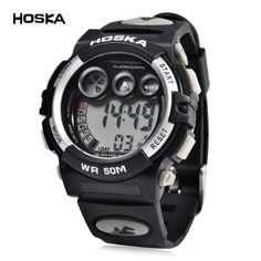 Llévalo por solo $39,700.Reloj Digital de LED HOSKA H002B niños.