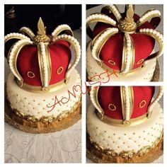 (24) Одноклассники Grandpa Birthday, 50th Birthday, Cupcakes, Cupcake Cakes, Fondant Crown, Cake For Husband, Royal Cakes, Christmas Cake Pops, Fondant Decorations