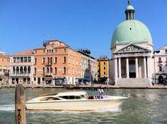 Venice, Italy.  Grand Canal.
