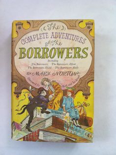 Vintage Book Complete Adventures of the Borrowers