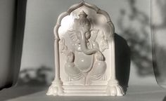 Ganesh standing relief by Mangalart on Etsy