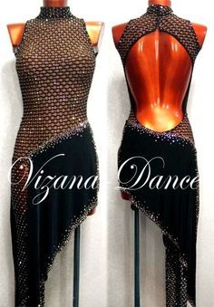 Let's Learn Dancing. According to experts, salsa dancing can burn up as many as 10 calories per minute. Ballroom Costumes, Dance Costumes, Latin Ballroom Dresses, Latin Dresses, Fishnet Dress, Salsa Dress, Tango Dress, Figure Skating Dresses, Dance Fashion