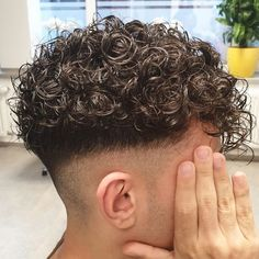 New cut / New styling… Curly Hair Cuts, Short Curly Hair, Short Hair Cuts, Curly Hair Styles, Spring Hairstyles, Permed Hairstyles, Boy Hairstyles, Male Haircuts Curly, Gents Hair Style