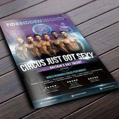 Sexy Circus Tour Poster 2018