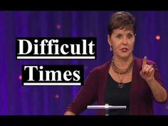 Joyce Meyer - Difficult Times Sermon 2019 - YouTube Joyce Meyer Sermons, Joyce Meyer Quotes, Joyce Meyer Ministries, Spiritual Beliefs, Spiritual Warfare, Spirituality, Beth Moore, Faith Prayer, Godly Woman