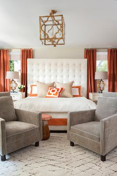 Valorie Hart Designs - contemporary master bedroom