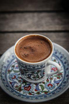 Turkish Coffee by arafyaren on DeviantArt. #coffee #coffeenearme #pourovercoffee #cappuccino #espresso #bulletproofcoffee #frenchpress #nespressopods #starbucksdrinks #starbuckscups #coffeebeans #coffeeshops #coffeelove Turkish Coffee Cups, Arabic Coffee, Turkish Tea, Turkish Breakfast, Espresso Coffee, Coffee Cafe, Iced Coffee, Turkish Spices, How To Make Coffee