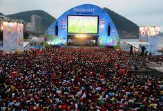 #Brasil2014 | Copacabana vibra con el duelo entre #ESP y #CHI: http://fifa.to/1lDkZnE #ESPCHI