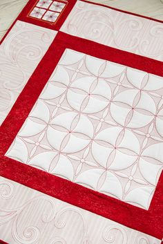 Quilt. Stylize home decor with these beautiful Quilt motifs in Trapunto Style. #475