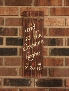 Ordered this sign today for our wedding. <3
