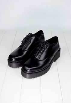 CHUNKY PLATFORM OXFORDS