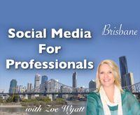Social Media For Professionals Training in Brisbane 19-20 September 2013. Visit http://SocialMediaShortCut.com/Events for more info. #SMSC #Social #Media #Business #Training #ZoeWyatt