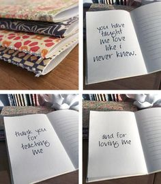 {Love Letter} – Minibook for Someone You Love  Love this Idea