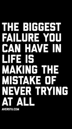 The biggest failure Inspirational Quotes For Women, Motivational Quotes For Life, Inspiring Quotes About Life, True Quotes, Success Quotes, Post Quotes, Find Quotes, Wisdom Quotes, Discover Quotes