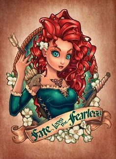 Merida. Fearless. Brave.