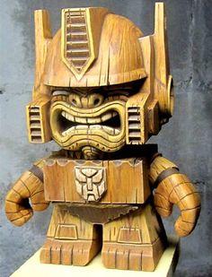 Mike Nemo Mendez - Tiki Prime Warrior2