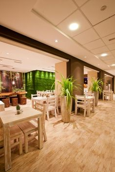 Sophies Cafe Interior Dubai- floor and chairs Bar Interior Design, Commercial Interior Design, Cafe Interior, Cafe Design, Interior Decorating, Brown Interior, Cafe Shop, Cafe Bar, Cafe Restaurant