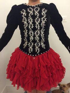 Divine Irish Dance Dress Solo Costume For Sale