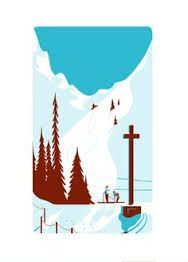 Creative Mountain, Design, Behance, Skiing, and Illustration image ideas & inspiration on Designspiration Mountain Illustration, Winter Illustration, Art Et Illustration, Creative Illustration, Landscape Illustration, Vintage Ski Posters, Inspiration Art, Art Graphique, Art Design