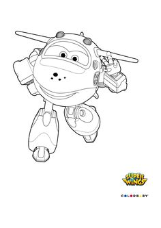 dibujos colorear super wings mira - Sprout Super Wings Coloring Pages