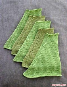 . Как красиво делать убавления в вязании спицами