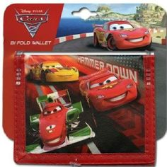 Cars Movie Wallet Bifold Party Favor | Balli Gifts