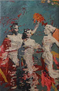 Hossam Dirar - Oil on Canvas Oil On Canvas, Collage, Painting, Watercolor, Fine Art, Artwork, Inspiration, Art Work, Biblical Inspiration