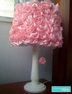 DIY - Recycle that old lamp to beautiful decorator lamp.  I will bring the two I have set out for garage sale and spruce them up.
