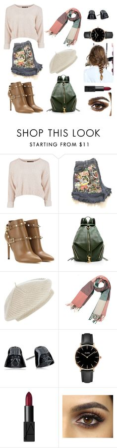 """Million Steps"" by hien-anhhs on Polyvore featuring mode, Valentino, Rebecca Minkoff, Harrods, CLUSE et NARS Cosmetics"
