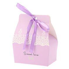 neige box-set faveur conception mariage de 6 (plus de couleurs) - EUR € 0.90